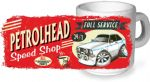Koolart PERTOLHEAD SPEED SHOP Design For Retro Mk2 Ford Escort Mexico Ceramic Tea Or Coffee Mug